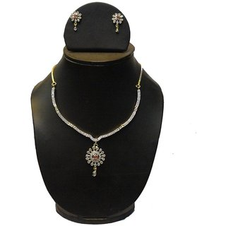 Natraj Arts American Diamond Jewellery Necklace Set Gfns_M_257