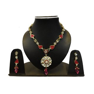 Natraj Arts American Diamond Jewellery Necklace Set Gfns_M_263