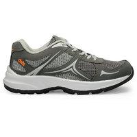 Mesha Density Men B-2 Grey-Orange Running Shoes