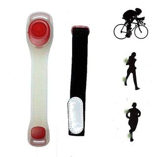 Futaba Bicycle LED Arm/ Leg Night Warning Safety Band - Red