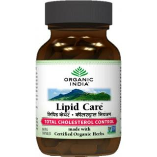 ORGANIC INDIA Lipid Care 60 Capsules Bottle