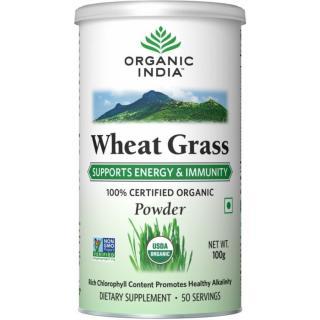 ORGANIC INDIA Wheat Grass 100 Grm