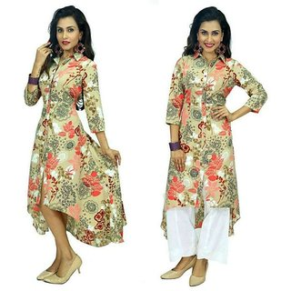 Kurtis With Party Wear Dress For WomensGirls