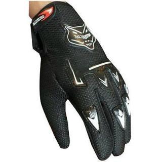Biker Riding Knighthood Black Gloves