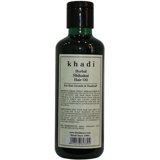Khadi Herbal Shikakai Hair Oil - 210ml
