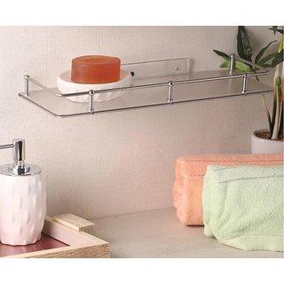 Zahab Bathroom Shelf Acrylic Unbreakable (16inch)