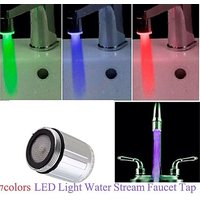Gadget Hero's 7 Color's Changing LED Tap Faucet Glow For Bathroom Kitchen Automa