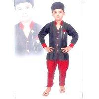 Kids dresses baby clothing boys Black Stylish kurta set 2 3 4 5 6 7 8 year