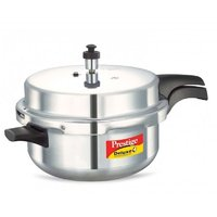 Prestige Deluxe Plus – Induction Base Aluminium Pressure Cooker – 3 Ltrs