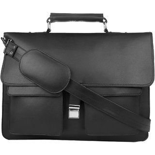 P Y Fashion Fashion Black Messenger Bag