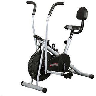 Body Gym Air Bike Exercise Cycle BGA2001 With Back Rest Exercise Bike available at ShopClues for Rs.7990