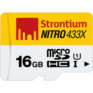 Strontium Nitro16GB-433X UHS1 65MB/s 1 in 1 Single Packing