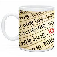 Love In Hate Mug By Shopmillions