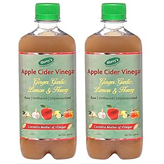 Shreys Apple Cider Vinegar with Ginger Garlic Lemon Honey 1000 ml