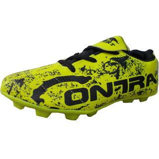 Port Mens Contra Green PVC Football Sports Shoes