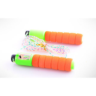 Fitness kart Multicolor Skipping Rope With counter