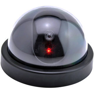 Fake Camera AA Battery Powered for Flash Blinking LED Dummy Dome IP Camera CCTV Security Surveillance Cam