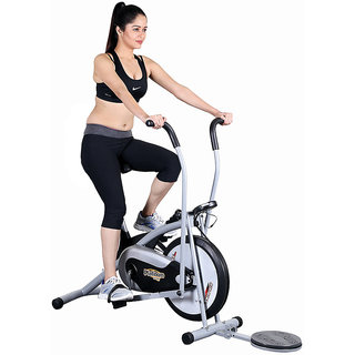 Body Gym Air Bike Platinum DX Exercise Cycle With Twister Exercise Bike available at ShopClues for Rs.7990
