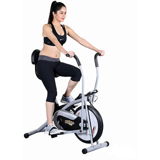 Body Gym Air Bike Platinum DX Exercise Cycle With Back Exercise Bike available at ShopClues for Rs.7990