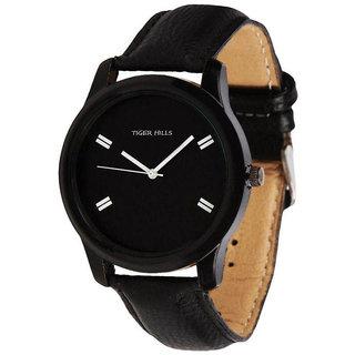 Tigerhills Black Watch Strap Black Model No-T1461755