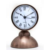 Classic Vintage look copper Table Alarm Clock Beep With Night Led Light - EDALRM010