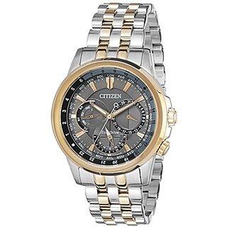 Citizen Silver Stainless Steel Round Dial Quartz Watch For Men (BU2026-65H)