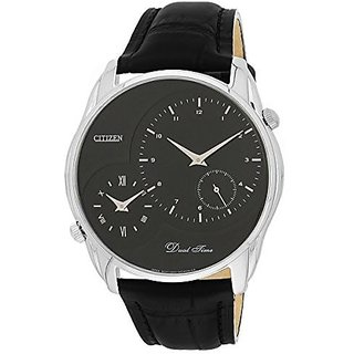 Citizen Black Stainless Steel Round Dial Quartz Watch For Men (AO3009-04E)