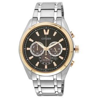 Citizen Multi Metal Round Dial Quartz Watch For Men (CA4015-54E)