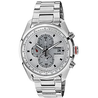Citizen White Stainless Steel Round Dial Quartz Watch For Men (CA0360-58A)