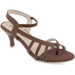 Vendoz Women Brown Heels