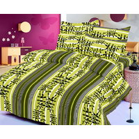 Zigma Collections Color Of Dream 100% Cotton Double Bedsheet - 5029630