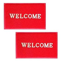 ILiv Red Welcome Mat Set Of 2