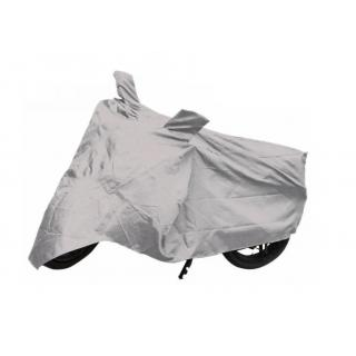 Water Proof Bike Body Cover Quality Product - Universal Motorcycle Cover - Super (Silver)