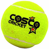 100% Genuine Cosco Cricket Tennis Balls- Pack Of 6