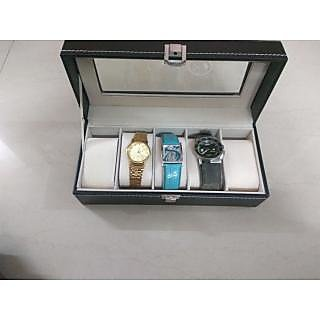 Leather Watch Box for 5 watches