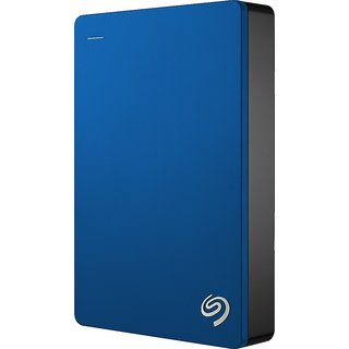 Seagate Backup Plus 4TB Portable External Hard Drive with 200GB of Cloud Storage USB 3.0 (Blue)with Free back cover for harddisk at shopclues