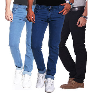 Gwalior Pack of 3 Jeans Fabric