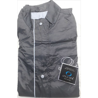 ONLY ONE Mens Reversible Raincoat (Only XL Size Paint 38 Inches Shirt 28 Inches)