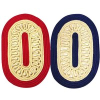 ILiv Red Blue Rope Mat- Set Of 2