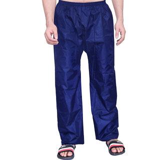 abc garments Solid Mens Blue Raincoat