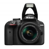 Nikon D3400 DSLR Camera with AF-P 18-55mm ASP VR II Lens (Black)