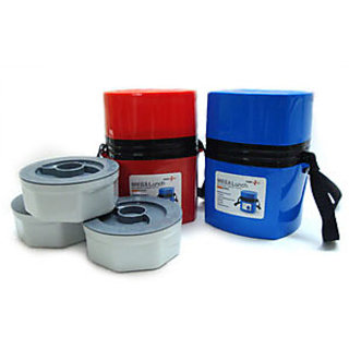 Microwave Lunch Box - Set of 3 containers