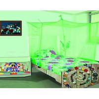 Classic adult Mosquito Net 6x6 ft Double bed Multicolor