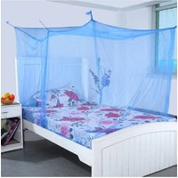 Adult Mosquito Net 6x6 ft Double bed Multicolor