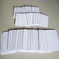 PVC Blank ID Card For Inkjet Printers Lot of 230 Cards-Super Quality Used with any Inkjet Printer with Tray