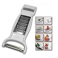 Multipurpose 3 In 1 Vegetable Slicer / Cutter / Greater Peeler