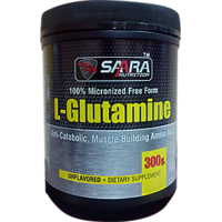 Saara Nutrition L-GLUTAMINE  Powder - 300g Unflavored