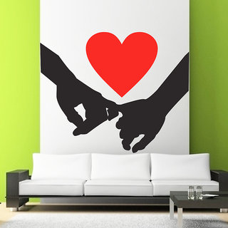 Decor Villa Wall Sticker  Hold My Hand Wall Surface Covering Area 19 x 14 Inch available at ShopClues for Rs.175