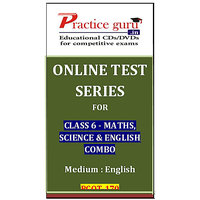 Class 6 - Maths, Science & English Combo PGOT-170