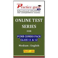 PCMB Combo Pack Class 11 & 12 PGOT-181